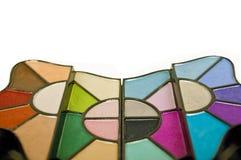 Trucco multicolore Fotografia Stock Libera da Diritti