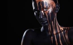 Trucco nero immagini stock libere da diritti