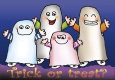 Trucco o ossequio? Fotografia Stock