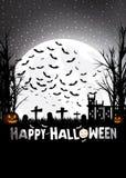 Trucco o trattare su Halloween immagini stock libere da diritti