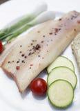 Trucha sazonada con pimienta Imagenes de archivo