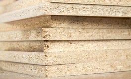 Truciolato piegato in un mucchio Fotografia Stock Libera da Diritti