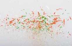 Trucioli delle matite Fotografia Stock