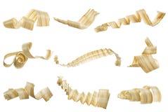 Trucioli di legno fotografia stock