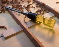Trucioli H22 e scalpello Fotografia Stock