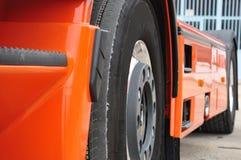 Truckâs hjul Arkivfoto