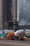 truck αναμικτών μηχανών Στοκ φωτογραφία με δικαίωμα ελεύθερης χρήσης