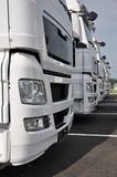 truck αποθεμάτων ημιρυμουλκ Στοκ Φωτογραφίες