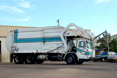 truck απορριμάτων Στοκ Φωτογραφία