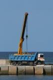 truck γερανών Στοκ φωτογραφίες με δικαίωμα ελεύθερης χρήσης