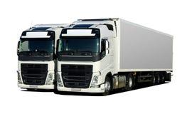 truck δύο Στοκ εικόνες με δικαίωμα ελεύθερης χρήσης
