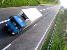 truck εθνικών οδών Στοκ φωτογραφία με δικαίωμα ελεύθερης χρήσης