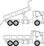 truck θάλασσας εκσκαφέων απορρίψεων Στοκ εικόνες με δικαίωμα ελεύθερης χρήσης
