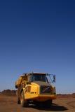 truck κίτρινο στοκ εικόνα