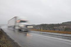Truck κινδύνου Στοκ Φωτογραφία