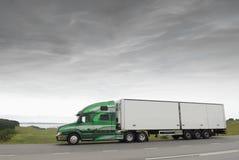 truck ξημερωμάτων Στοκ Εικόνα