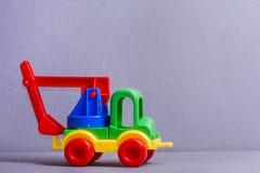 Truck παιχνιδιών τρισδιάστατα παιχνίδια απεικόνισης παιδιών Στοκ Εικόνες