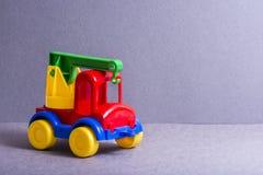 Truck παιχνιδιών τρισδιάστατα παιχνίδια απεικόνισης παιδιών Στοκ φωτογραφία με δικαίωμα ελεύθερης χρήσης