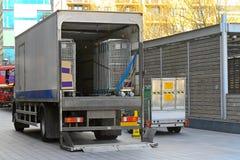 truck παράδοσης Στοκ φωτογραφίες με δικαίωμα ελεύθερης χρήσης