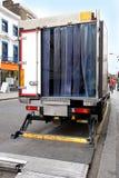 truck παράδοσης Στοκ εικόνες με δικαίωμα ελεύθερης χρήσης
