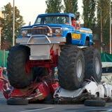 Truck τεράτων Στοκ Φωτογραφία