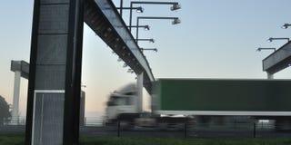 truck φόρου πυλών στοκ εικόνες με δικαίωμα ελεύθερης χρήσης