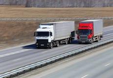 truck δύο Στοκ Φωτογραφίες