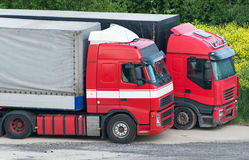 truck δύο Στοκ φωτογραφία με δικαίωμα ελεύθερης χρήσης