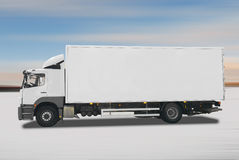 Truck. Isolated on white background Royalty Free Stock Photo
