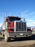 Truck. Heavy  transport of North America Royalty Free Stock Photos