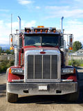 Truck. Heavy  transport of North America Royalty Free Stock Photography