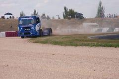 Truck. FIA European Truck Racing Championship Royalty Free Stock Image