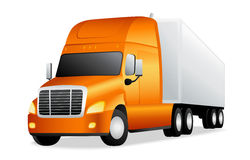 Truck. Vector illustration on white background Stock Photography