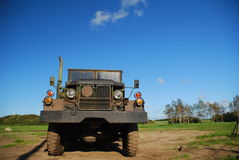 Truck. Old US Army Truck - Military Royalty Free Stock Photography