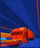 Truck 7 stock image
