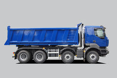 Truck. Heavy truck isolated on grey Royalty Free Stock Photography