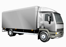 Truck. 3D Delivery / Cargo Truck royalty free illustration