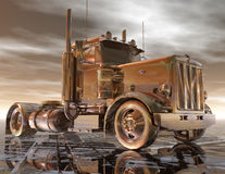 Truck. Digital rendering of a truck Royalty Free Stock Photos