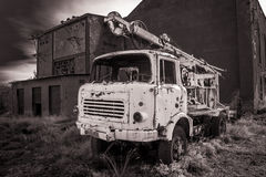 Truck  abandoned Royalty Free Stock Image