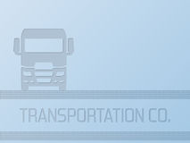 Truck advertisement background design Royalty Free Stock Images
