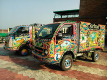 Truck Art of India Royalty Free Stock Photos