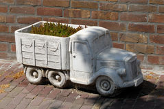 Truck as flower box Royalty Free Stock Photos
