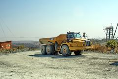 Free Truck At The Cullinan Mine, South Africa Royalty Free Stock Photos - 104953478