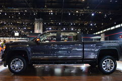 Truck at Auto Expo 2015 Royalty Free Stock Photography