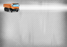 Truck on the background Royalty Free Stock Photography