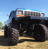 Truck With Big Wheels Stock Photos