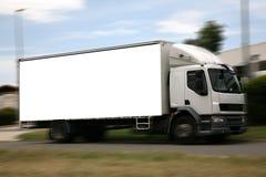 Truck Billboard Stock Image