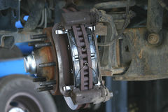 Truck brakes 2 Stock Photos