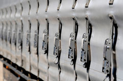 Truck Buckles Stock Photo