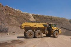 Truck and bulldozer Stock Photos